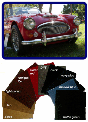 Carpets for Classic Cars